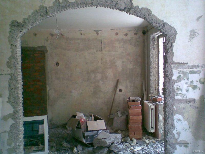 Перепланировка арки. При ремонте квартиры в Серове